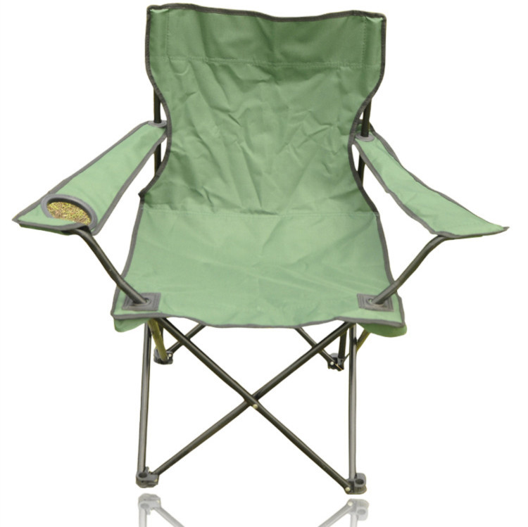 Outdoor folding chair portable leisure chair beach chair fishing chair stool belt armrest Large(China (Mainland))