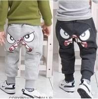 1 PCS Retail!!Hot sale !! children leisure pants Cartoon boy's harem pants autumn cotton kid's trousers free shipping CP007