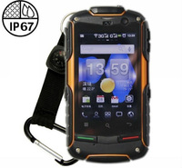 Original AGM  Rock V5+ IP67 dustproof waterproof Android4.0 WCDMA 3G Smart Phone Shockproof GPS 3.5inch sreen outdoor phone