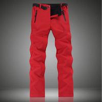 HQ Women Fashion Thicker Fleece Warm Waterproof Outdoor Sports Snowboard Pants/ Female Camping Sportswear Ski pant/ CL285