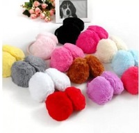 Plush earmuffs after earmuffs autumn and winter earmuffs plush earmuffs ear package  free shipping color radom