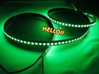 1M 144 5050 RGB LED Pixel WS2812B WS2811 Digital RGB LED Strip Light DC5V # Black PCB
