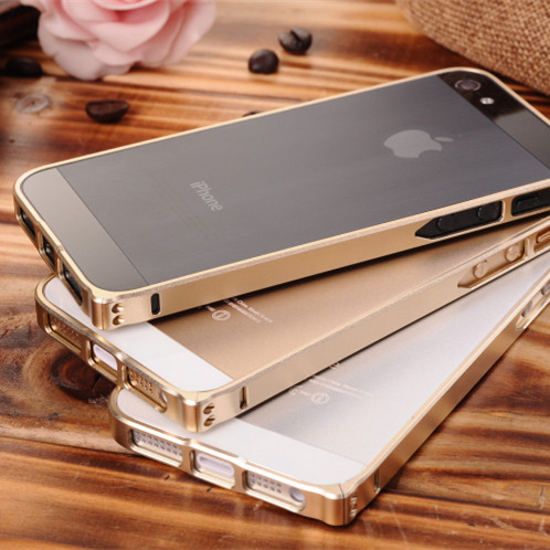 For iphone 5 5s case Metal frame 0.7mm Aviation aluminum 12 colors Free shipping(China (Mainland))
