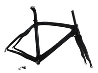 Full carbon fiber Road bicycle frame fit di2 /mechanical Group,Frame+clamp+headset+Fork Free shipping cost
