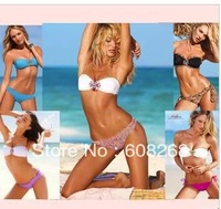hot Women  Bikini set 2013 push up Swimwear VS Brand Sexy   New Arrival gift !Free Shipping
