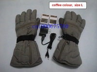 5PCS/lot, free shipping,composite carbon fiber heat gloves,2600mha rechargeable li-plomyer battery,3hours heat,