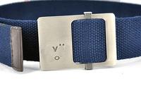 Cheep fashion belt canvas unisex belt mens leather belt for women free shipping