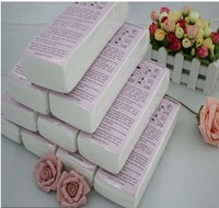 Free Shipping  5 pack 500pcs Hair removal wax depilatory paper strip roll waxing disposable depilatory beauty care tool