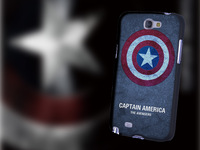 Cover animation Vs Man Captain America beauty phone shell mobile phone sets Phone Protection Case for Samsung N7100