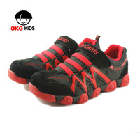 Teenage child sport shoes boys shoes girls shoes autumn new arrival bkg velcro shoes sport shoes