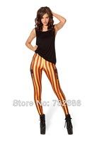 2014 New brand black milk for women's Gryffindor Harry Potter 3D print leggings spring autumn fitness galaxy pencil disco pants