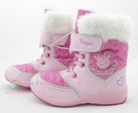 2013 peppa pig snow boots children shoes 79.9
