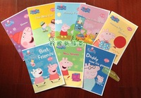 Pink pig peppa pig book 52 book pure picture book full