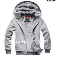 Men's casual outwear men cardigan plus warm cashmere sweater coat male sports and leisure men  Hoodies  wholesale jacket