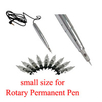 50Pcs Permanent Makeup Eyebrow Needles Assorted Mixed Size for Rotary Machine Pen EN-50 for free shipping