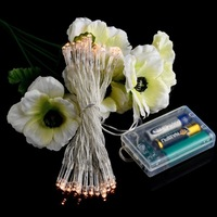 30 LED 3M Battery Powered String Fairy Lights Christmas Xmas Garland Decoration Wedding Party Decor - Warm White