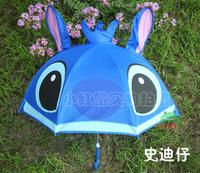 Children's Umbrella Animal prints of creative cartoon (Stitch)  pattern umbrella
