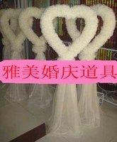 Wedding props wedding supplies welcome heart