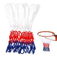Standard Durable Nylon Basketball Goal Hoop Net Netting Red/White/Blue Sports