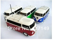 Car Speakers Mini Portable WS-266 Bus Music Player Support TF Card/USB/MP3 35pcs Free Shipping