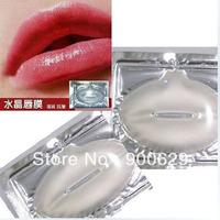 100 Pcs Collagen Crystal Lip Mask Membrane Moisture Essence Lip Care Gel Anti-Wrinkle