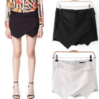 2013 Women Summer New Cute Fashion Vintage Irregular Shapes Shorts Pants Skirt F