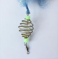 New Design Copper Spring Shoal Fishing Net Netting Luminous beads Swivel