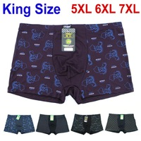 Men's Sexy Underwear Boxer Shorts Underpants 4pcs/lot Bamboo Fiber boxer shorts underwear for men large size Free shipping