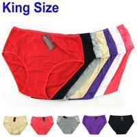 High Waist Plus Size Sexy Lace Women Panties,Women Underwears ,Comfortable Mommy Underwears Free Shipping 8121