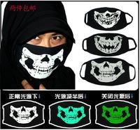 2015face care Luminous outdoor skull masks fashion wildfox pm2.5  Free shipping