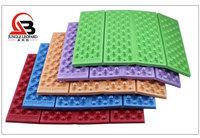 Outdoor portable lightweight cellular massage four fold moistureproof XPE/EVA foam cushion single