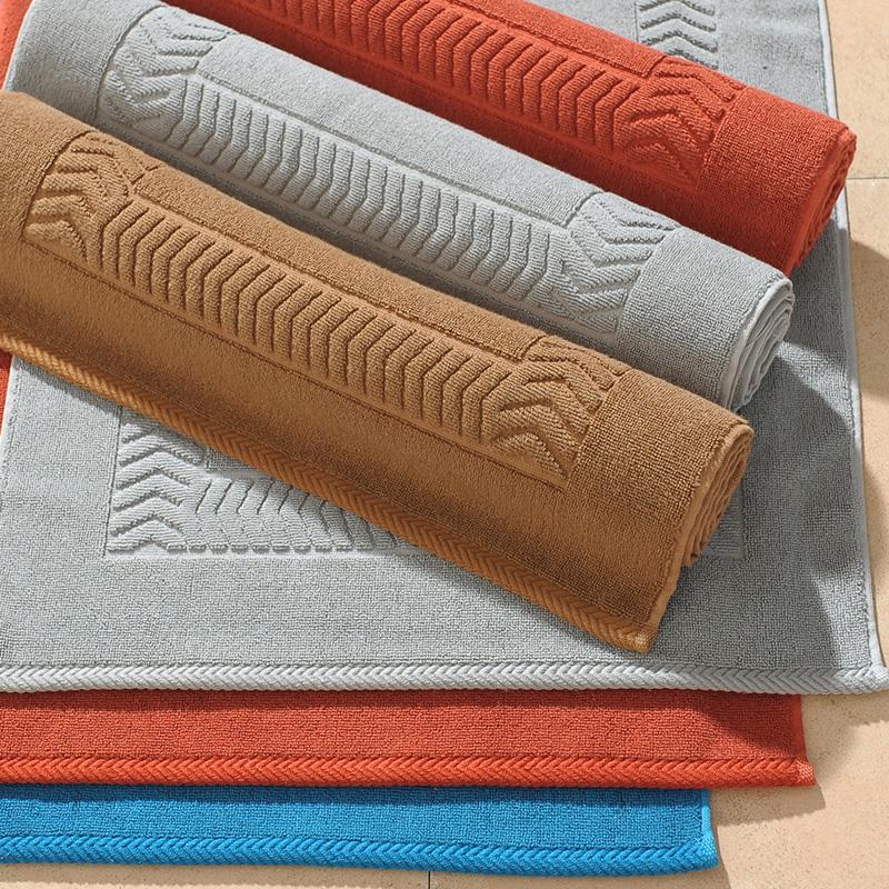 50*80cm 100% cotton rug anti skid bath mat bathroom carpet bathmate bathroom products mat for toilet towel bath accessories(China (Mainland))