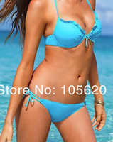New arrival sexy Women Bikini Swimwear Famous Brand Summer Beach Wear  Fashion  Bling Diamond Swimsuit Six color