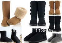 Wholesale! 5815 5825 5854 5803 1873 The Australian Women's Classic Tall Sheepskin leather waterproof snow boots warm shoes