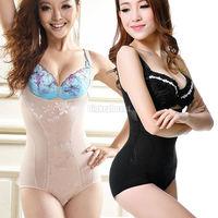 Womens Tummy Control Underbust Slimming Shapewear Shaper Suit Body Control