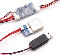Remzibi OSD V1.79 5HZ GPS module & USB program cable for Quadcopter FPV