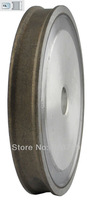 Free Shipping Good Quality Diamond Grinding Wheel Abrasive Wheel(flat with arris edge), D100*T5*H22mm, Grit 150#