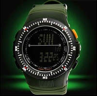 New 2014 Brand Designer Military Slicone LED Digital Men sports camping & hiking shock trendy wrist  Watch christmas gifts