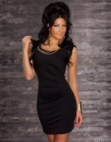 2013 European US Style Pretty Women Mini Club Dress Fashion Clubbing Wear Sexy Women Dresses Cute Costume Black Red Blue
