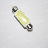 100Pieces/lot Wholesale Festoon Bulbs Interior Lamp 2.5W Ceramic 39mm/416mm Can Mix SIze Instrument Light Super White