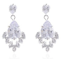CUBIC ZIRCON EARRING JEWELRY MODEL 2014 NEW ARRIVAL