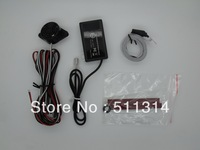 Free shipping Electromagnetic parking sensor,u301 no holed no drilled,Parking Assistance,Car Reverse Backup Radar