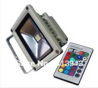 IP68 10w rgb led flood light projector lamps spotlight bulb wholesale 10pcs/lot free shipping DHL