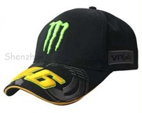 Free shipping 2013 46 black fans F1 racing car classic motorcycle motobike 100% cotton baseball adjustable sports hat cap