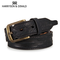 Male casual commercial strap pin buckle male genuine leather belt men's 1545