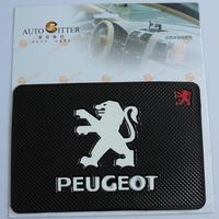 Car with slip-resistant pad instrument phone pad miscellaneously pad non slip pad tape logo emblem peugeot emblem
