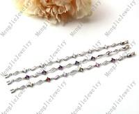 Luxury beautiful lady birthday  wedding gifts, plating 18 kt AAA zircon bracelets L88115