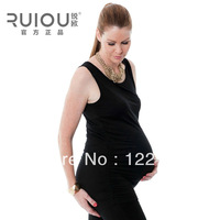 Autumn 2013 new fashion pregnant women Maternity Long T shirt Modal vest bottoming shirt tops