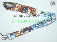 Free Shipping blue Kingdom Hearts  mp3/mp4/mp5 phone lanyard  mobile neck strap wholesale