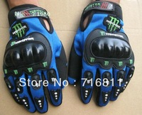 3 Colors Motorcycle Bike full finger Protective Racing Gloves Size M,L,XL